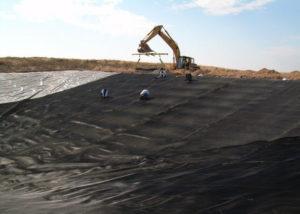 Màng chống thấm HDPE cho bãi rác